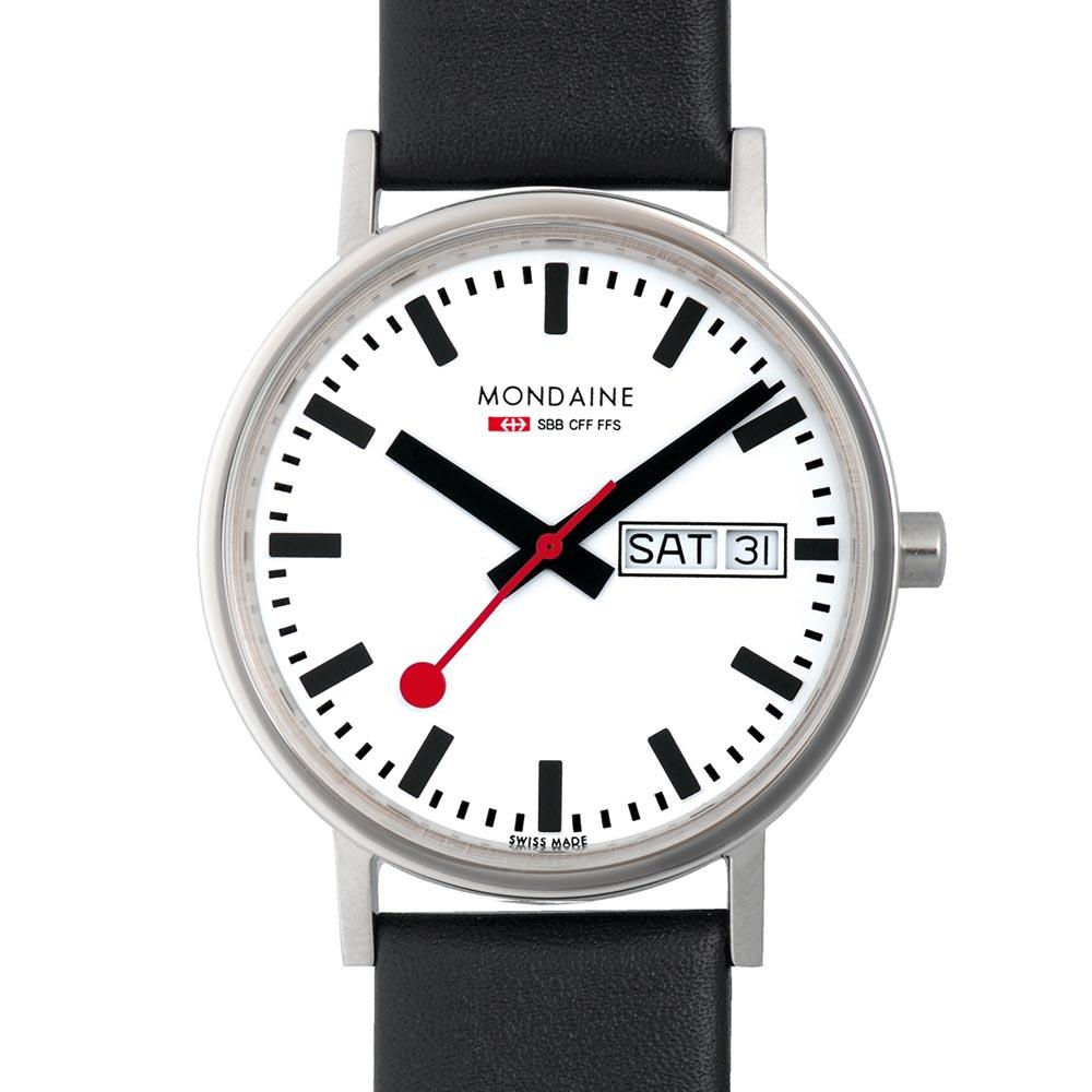 mondaine-classic-day-date-36-mm-white-black-leather-red-lining