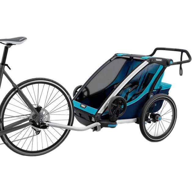 Thule Chariot Cross 2+bike Kit Anhänger MulticolouROT , Anhänger Kit und Wagen Thule , Träger d9e99c