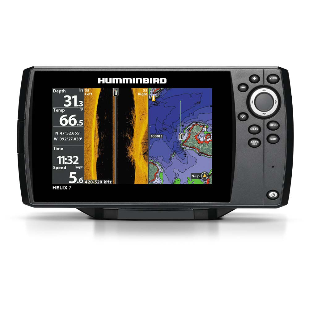 Humminbird Helix 7x Navigationsgeräte Chirp Si Gps G2n MulticolouROT , Navigationsgeräte 7x 7f99da