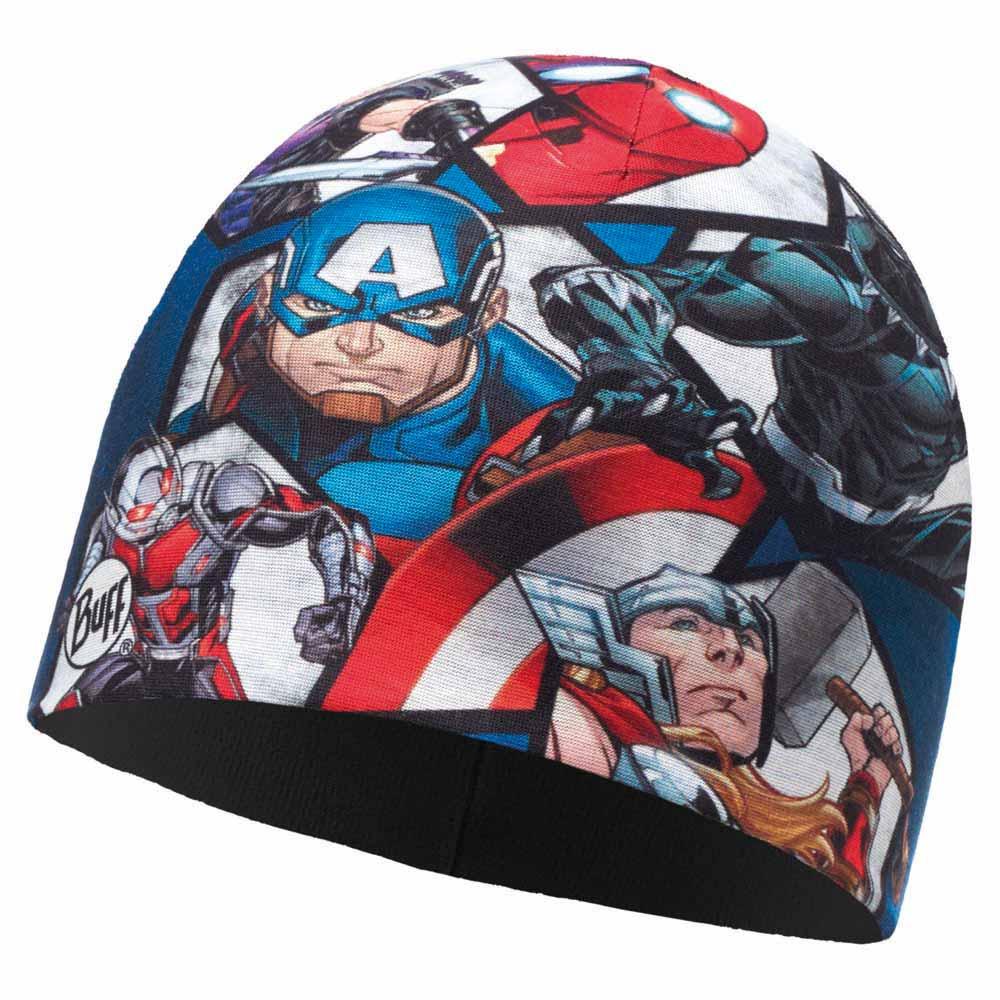 Buff ® Superheroes Micro Polar Junior One Size Avengers Time Multi / Black