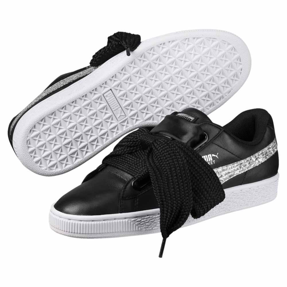 baskets femme puma noires