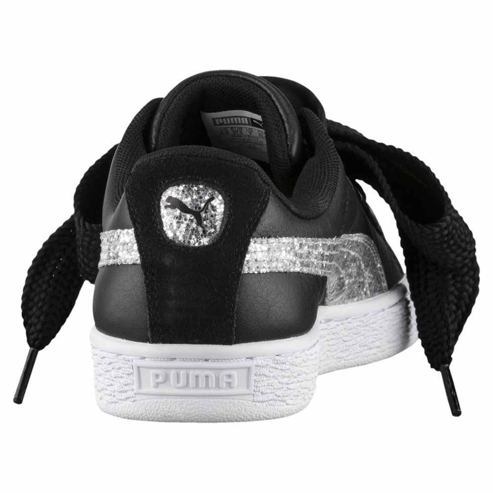 puma baskets femme noir