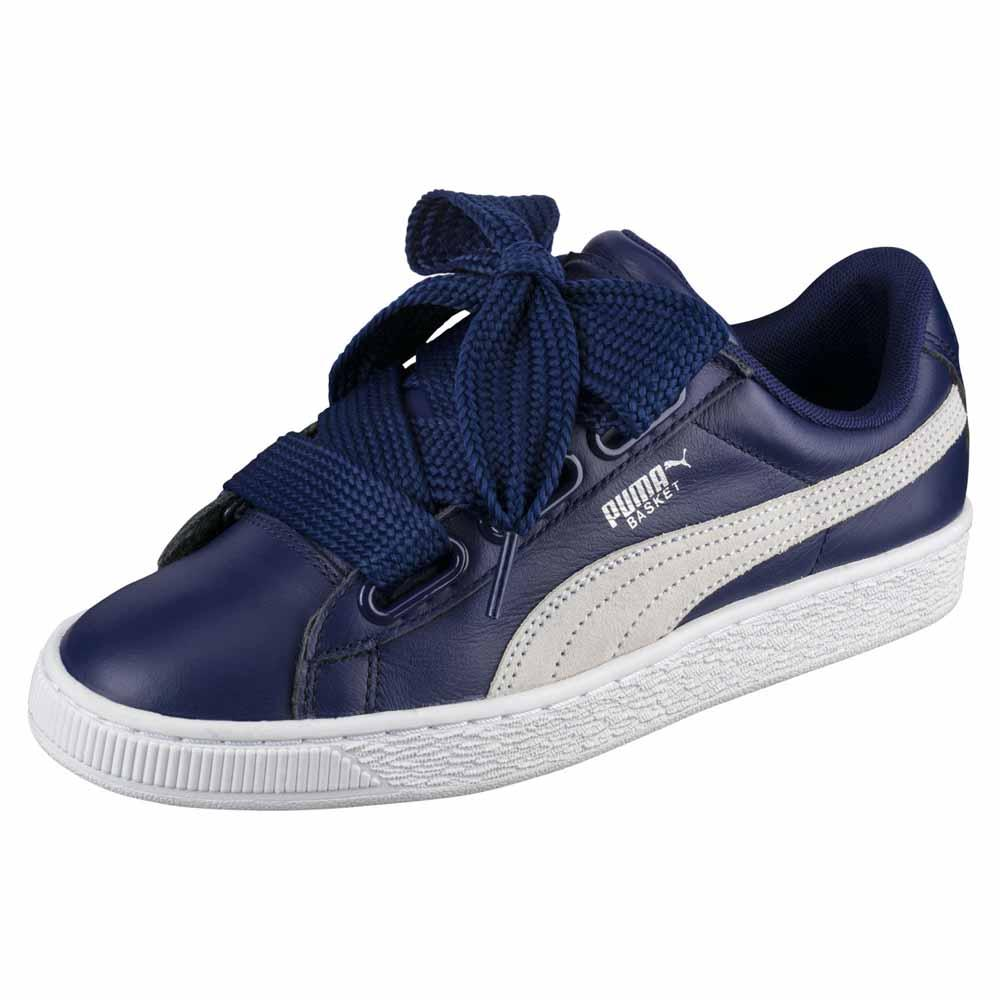 Puma Select Basket Heart De EU 38 Blue Depths / Puma White