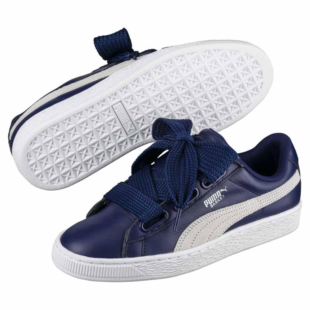 zapatillas puma mujer basket heart