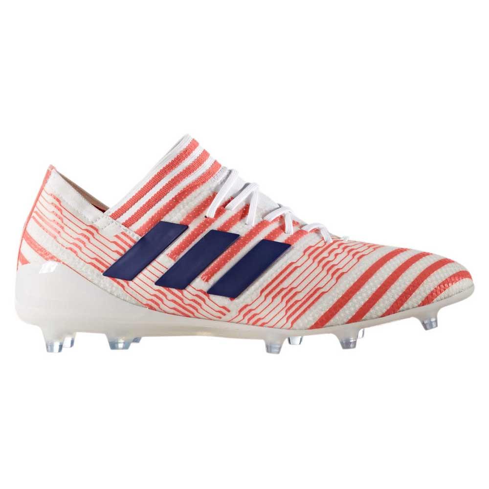 Adidas Nemeziz 17.1 Fg Woman EU 36 Ftwr White / Mistery Ink / Easy Coral