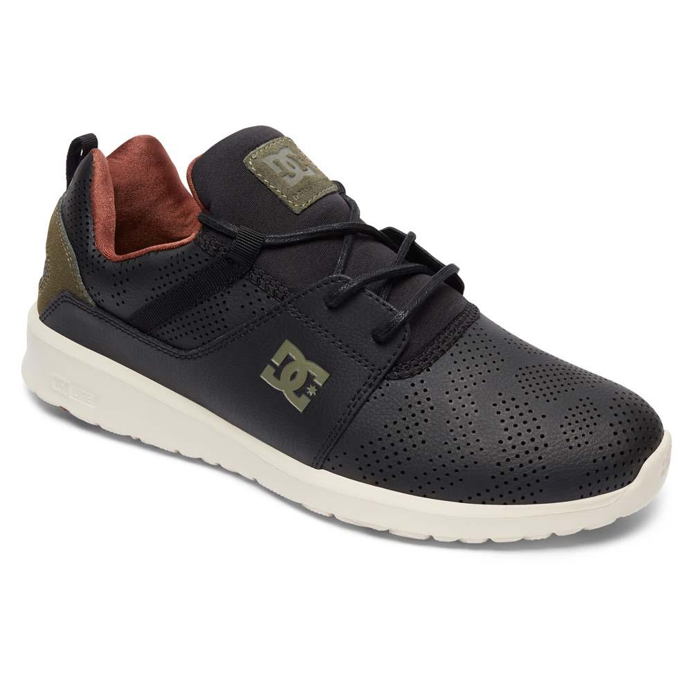 Zapatos casuales salvajes Dc Shoes Heathrow Se Shoe 2, Negro Male EU 45