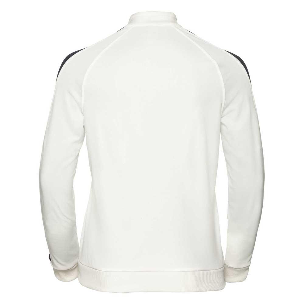 Odlo-Berit-Midlayer-Full-Zip-Blanco-Forros-polares-Odlo-montana-Ropa-Mujer