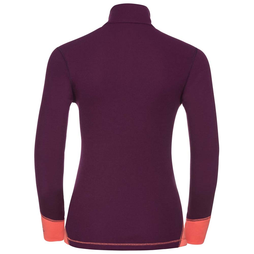 Odlo-Revel-Shirt-L-s-Turtle-Neck-1-2-Zip-Warm