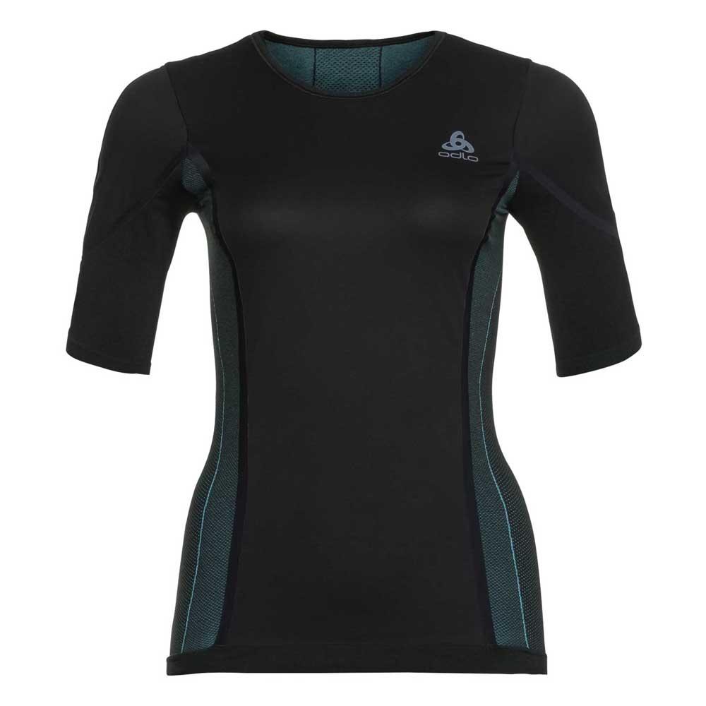 Odlo Performance Windshield Xc-skiing Light Shirt Crew Neck XL Black / Blue Radiance