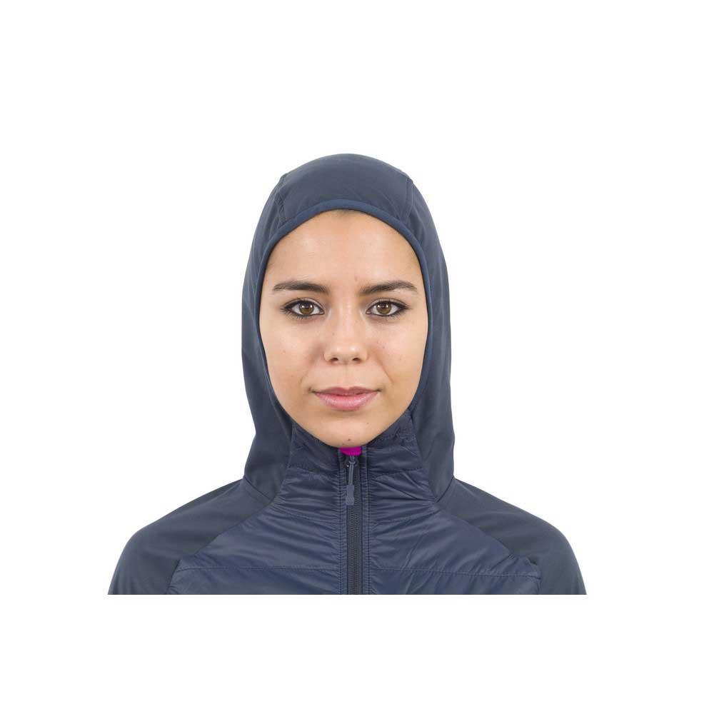 Izas Abieri Dark Dark Dark viola   arancia , Giacche Izas , montagna , Abbigliamento donna 7703b0