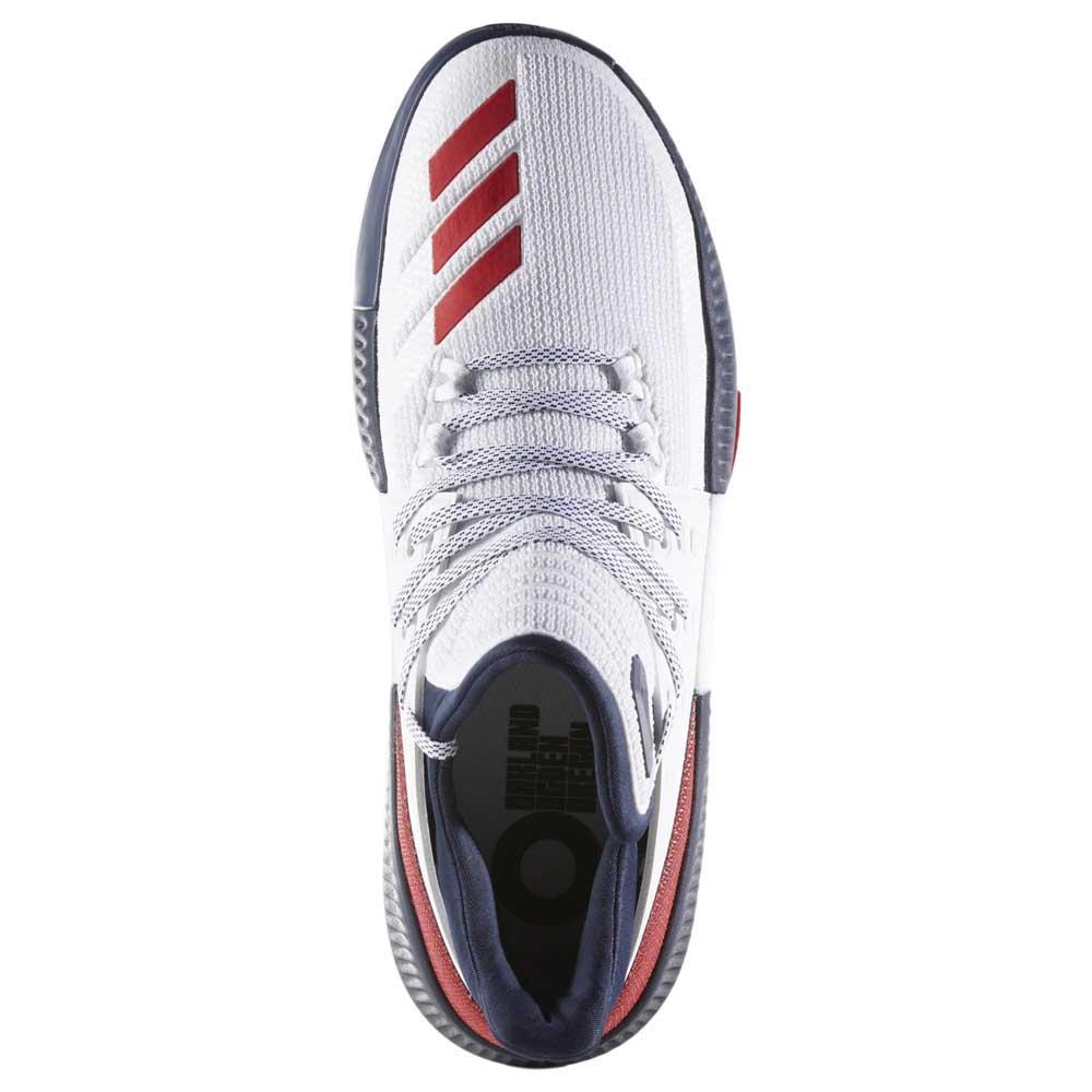 Adidas Dame 3 Blanc , Baskets adidas , football football football , Chaussures homme b6fbef