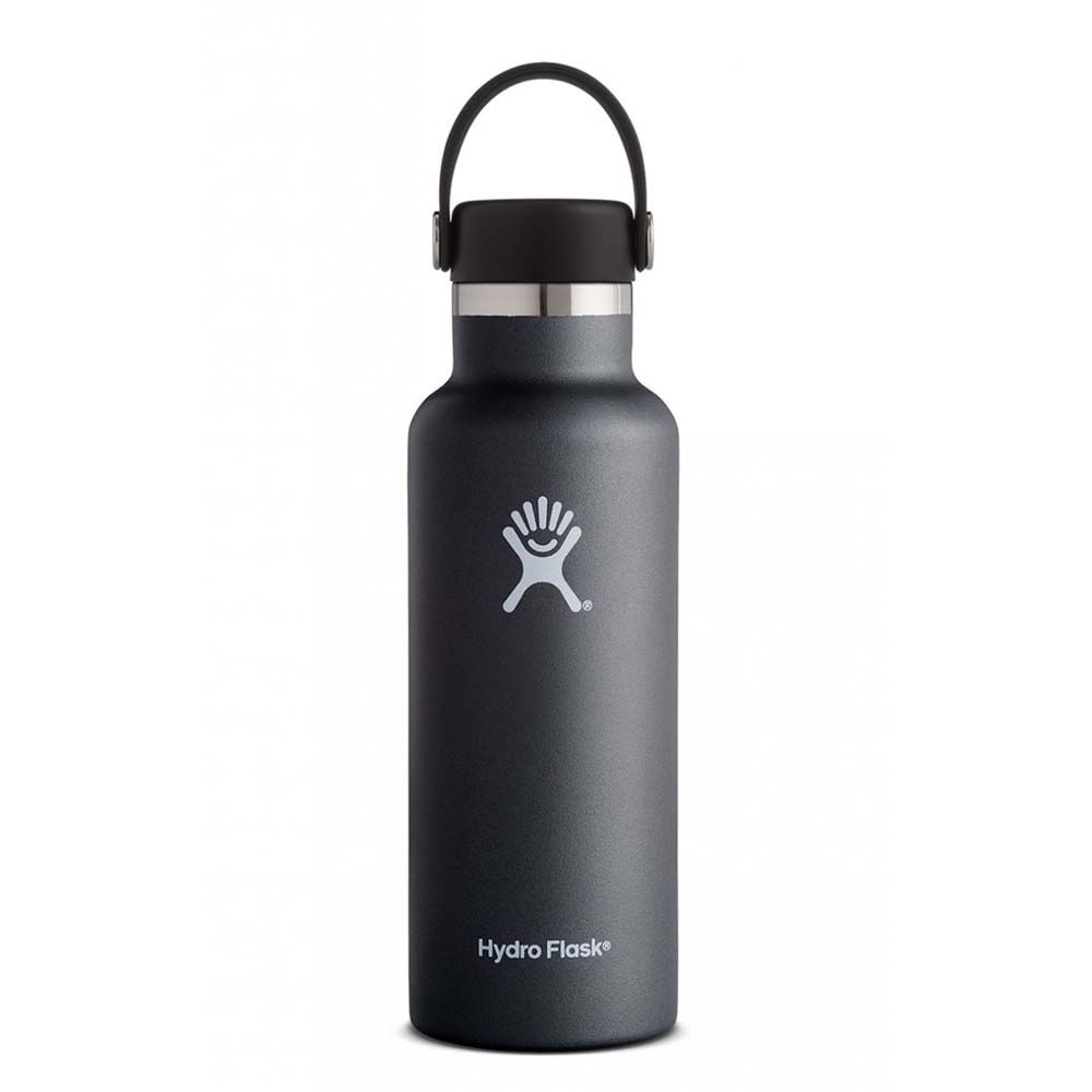 Hydro Flask Standard Mouth 530ml One Size Black / Standard Flex Cap