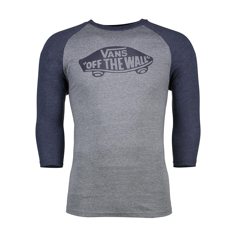 c25a4fbea4 VANS OTW Raglan 3 Quarter Mens T-shirt Long Sleeve - Heather Grey Navy All  Sizes Small. About this product. Picture 1 of 4  Picture 2 of 4  Picture 3  of 4 ...
