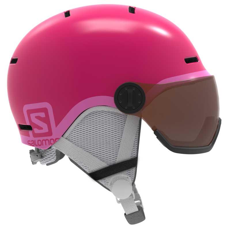 salomon-grom-visor-49-53-cm-glossy-pink
