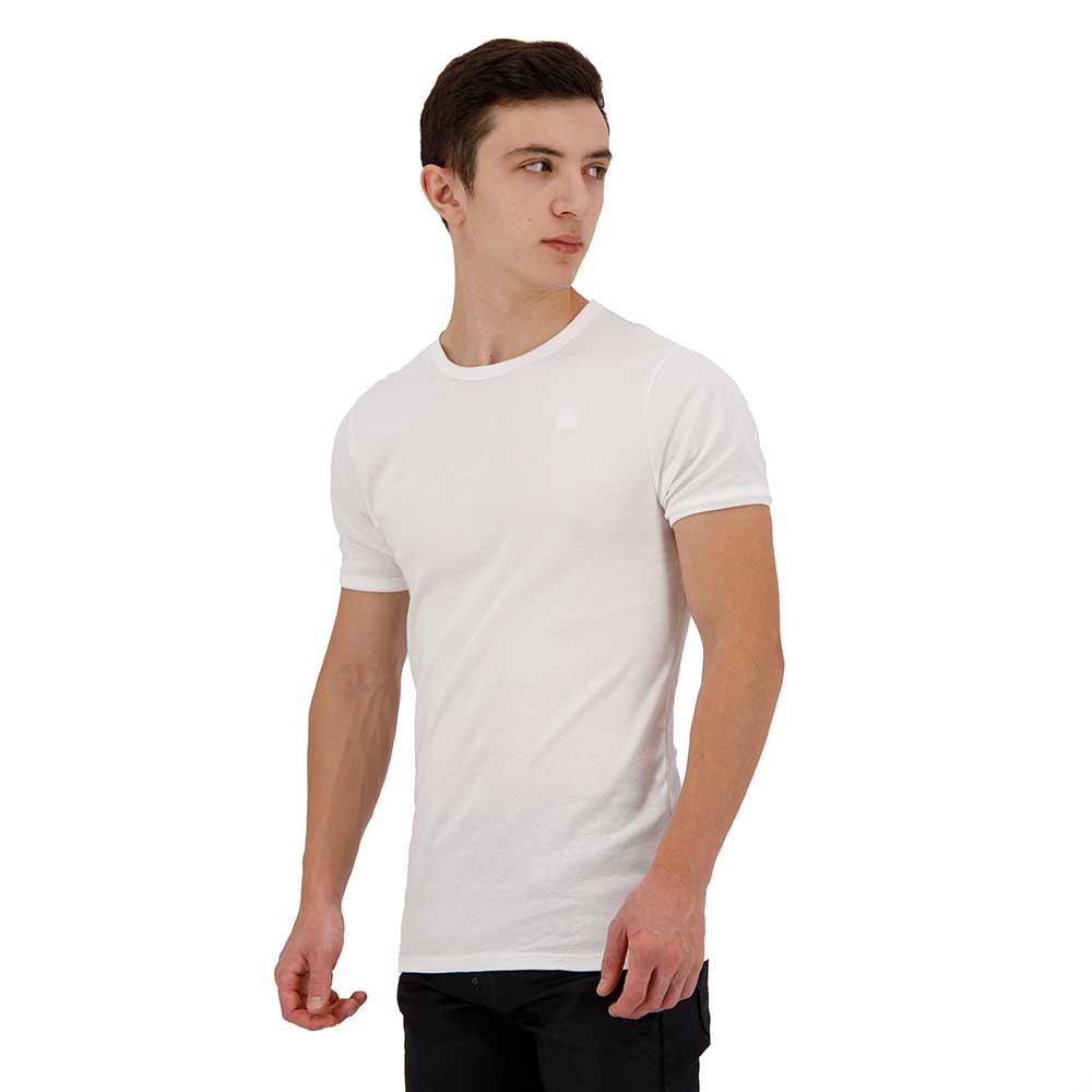 Gstar-Base-Round-Neck-2-Pack-White-Magliette-Gstar-moda-Abbigliamento-Uomo