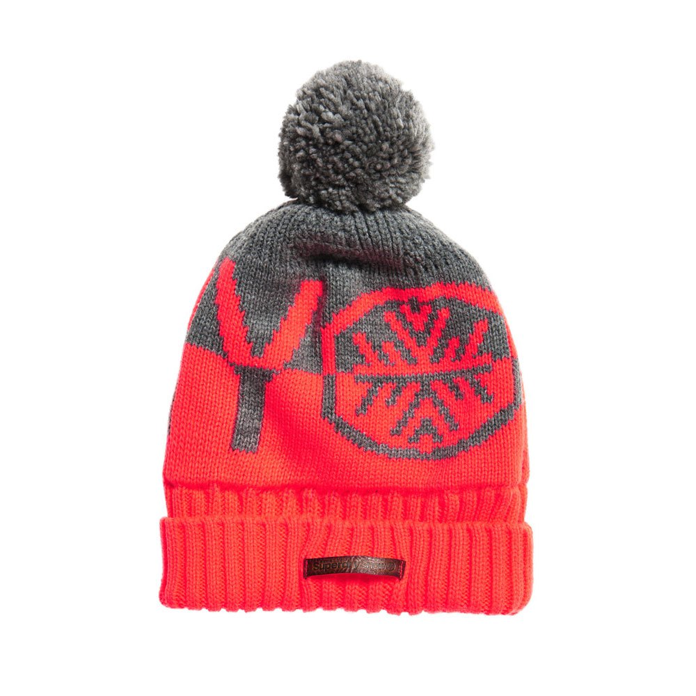 superdry-s-dry-snow-logo-one-size-grey-fluro-coral