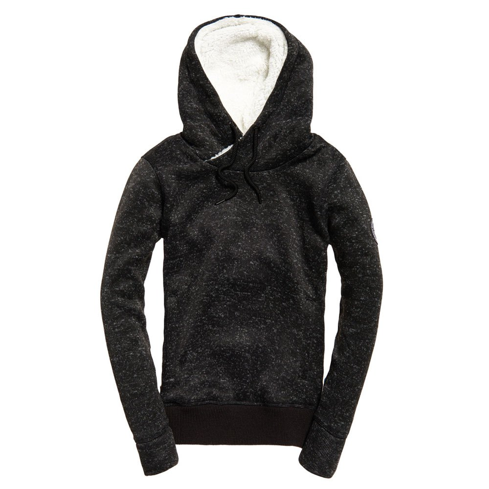 Black Sweat Marl Storm Superdry Hood shirts Gritty Mode zxZHqHw6E4