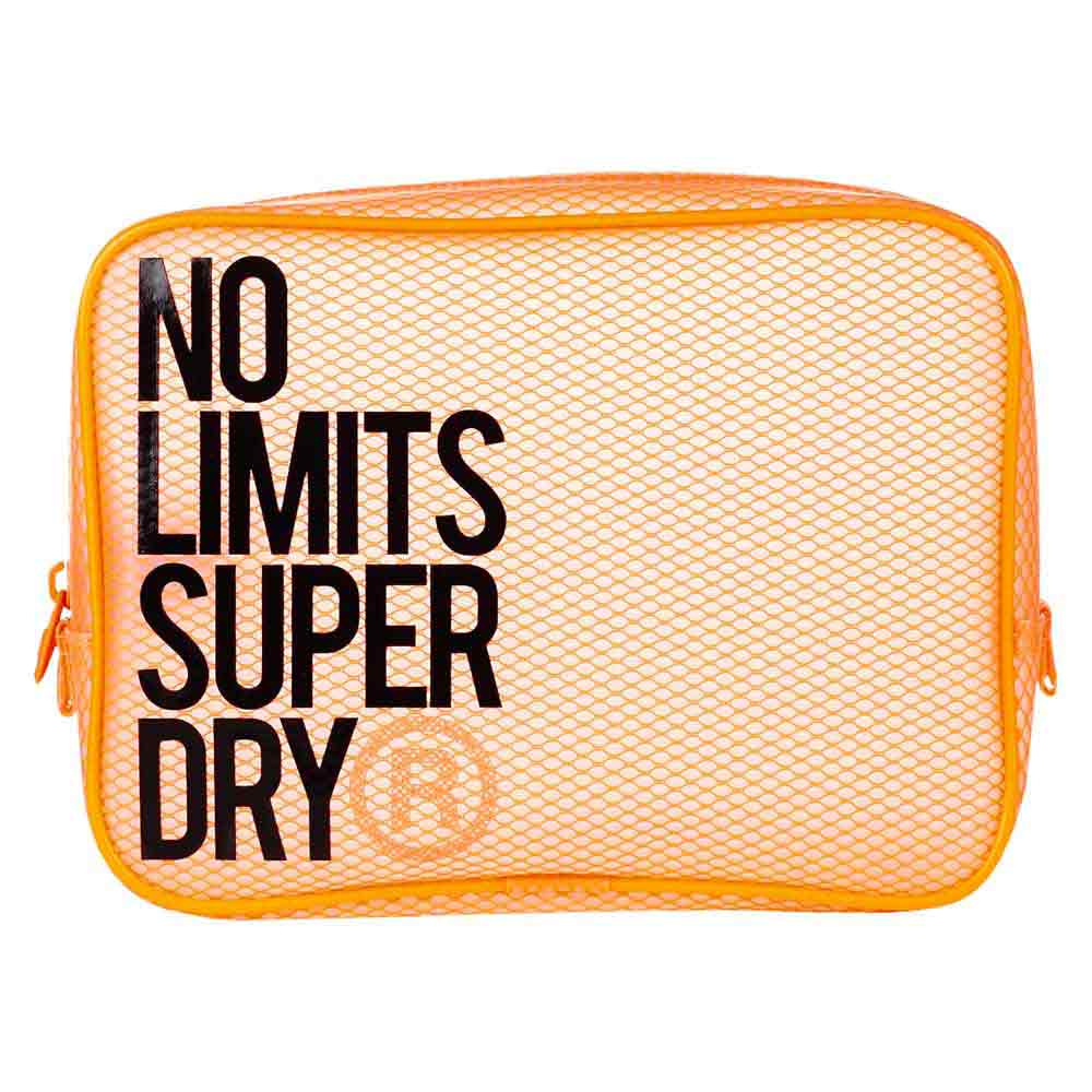 Superdry Super Fit Sport Jelly Pouch One Size Fluro Coral