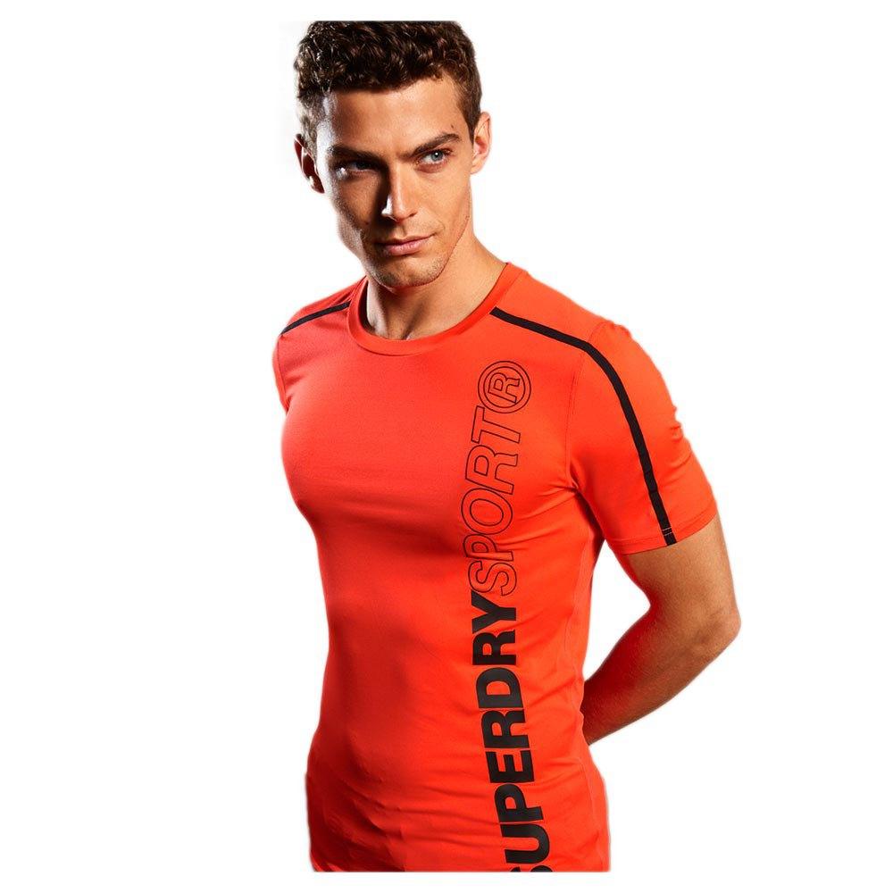 Superdry Sport Athletic Core M Fluro Orange