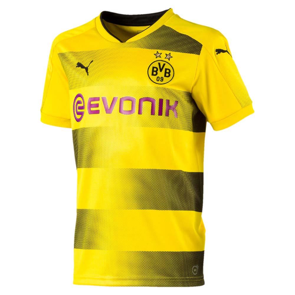 Puma Borussia Dortmund Home 17/18 Junior 176 Cyber Yellow / Puma Black