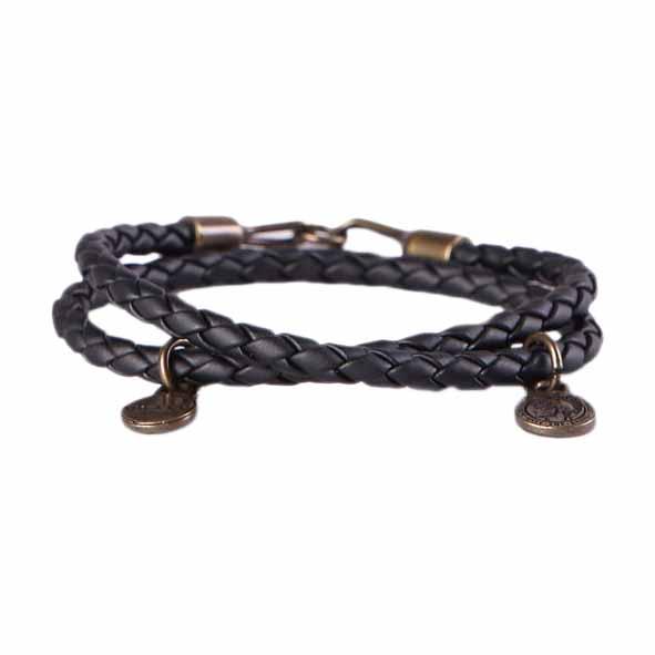 Diesel Alucy Bracelet 2 02 Black / Bronze