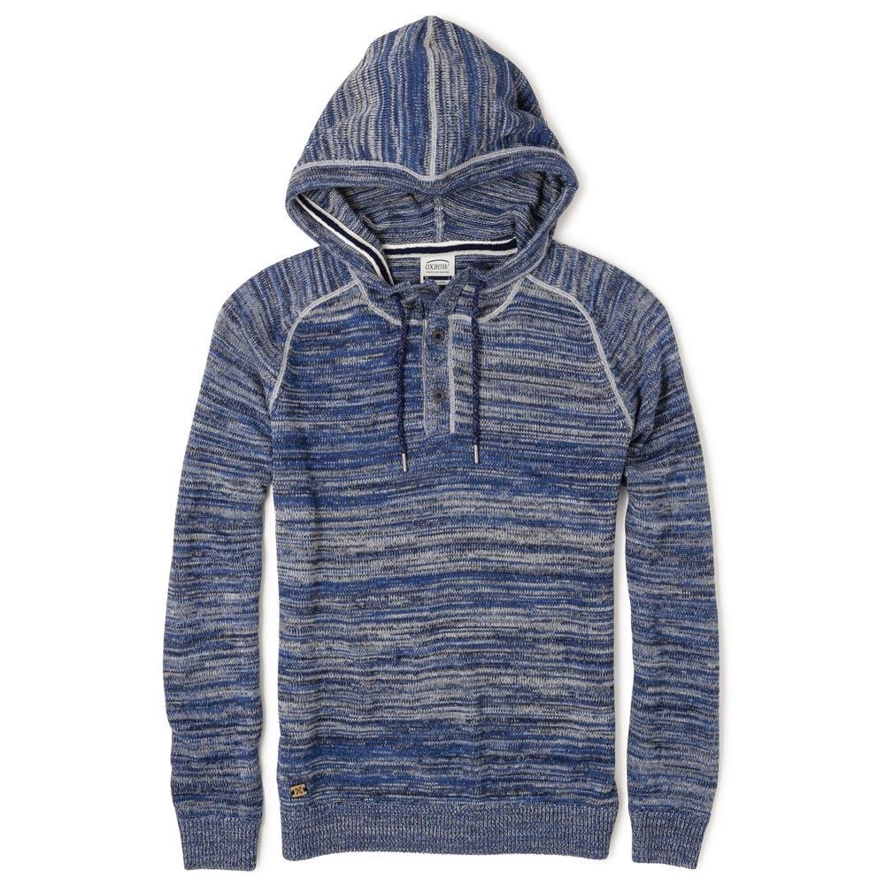 Homme Bleu Vêtements Mode Oxbow Ployd Chandails nYUqqzP