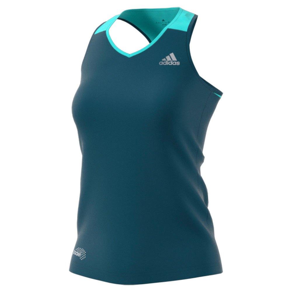 Adidas T-shirt Sans Manches Club XXS Petrol Night / Clear Onix / Energy Aqua