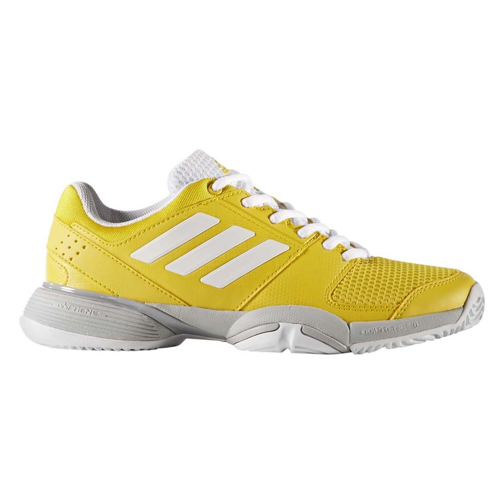 Adidas Barricade Club EU 33 1/2 EQT Yellow / FTWR White / Grey Two