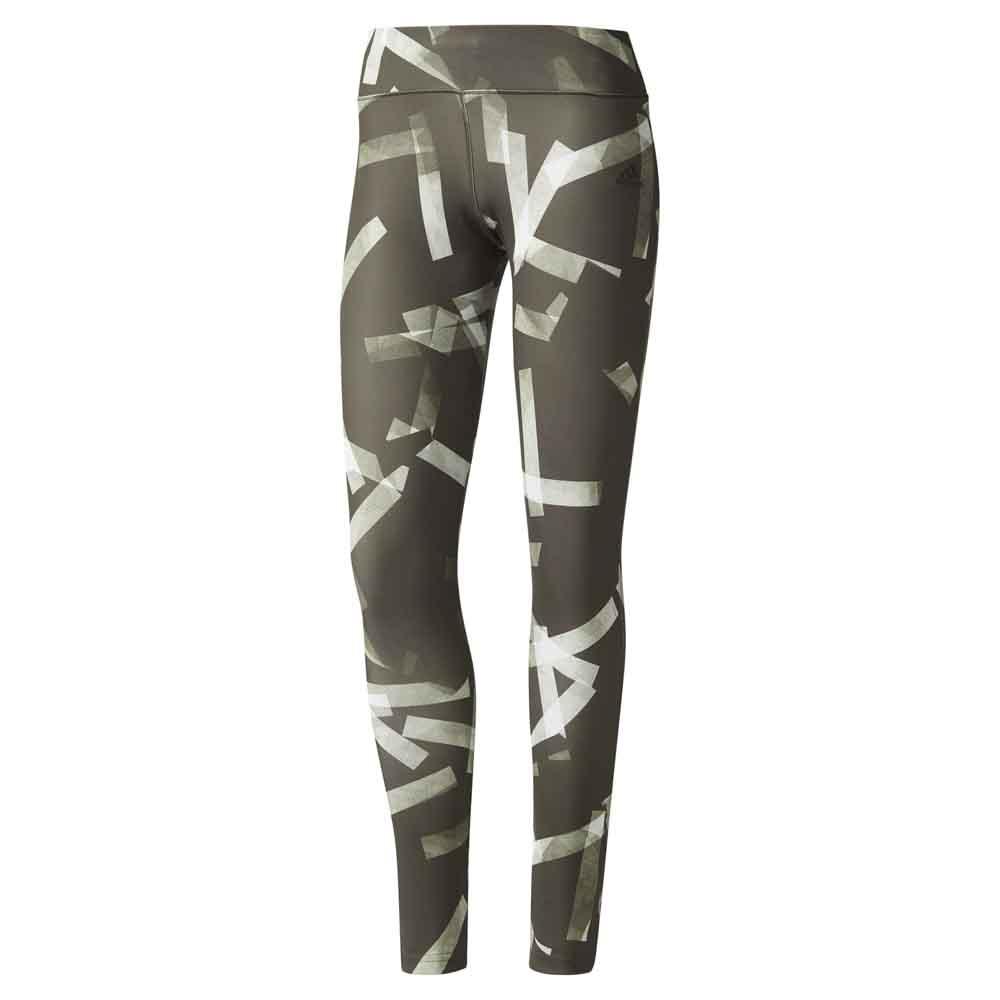 Adidas Legging D2m Long Print 1 XS Night Cargo / Print