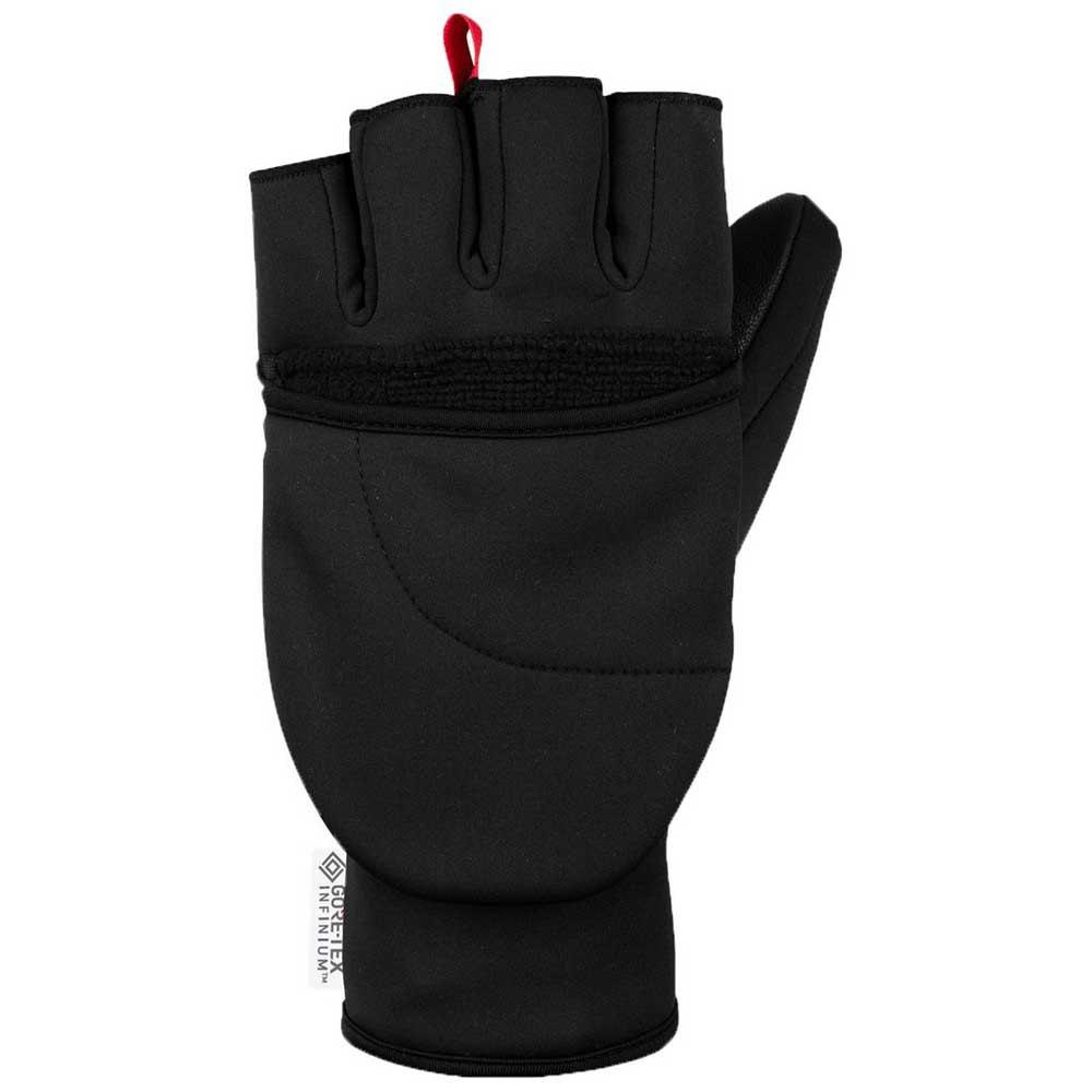 salewa-sesvenna-fold-back-windstopper-gloves-l-black-out