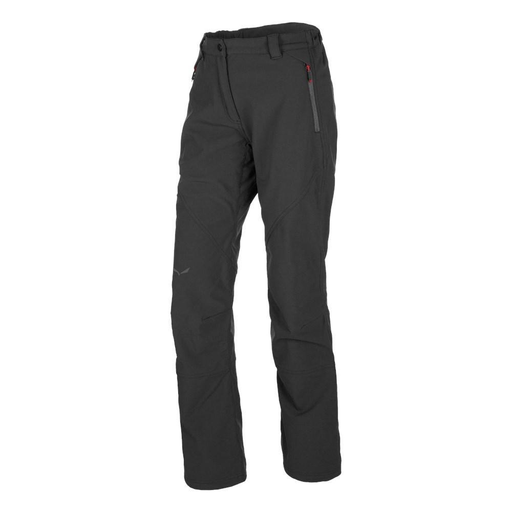 Salewa Puez Polarlite Pants Long S Black Out / Magnet