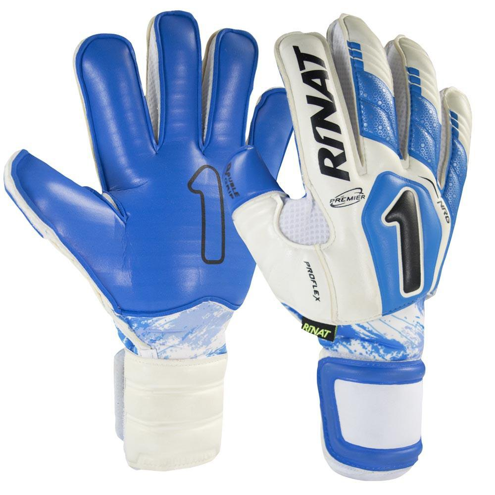 Rinat Uno Premiere Nrg Pro Goalkeeper Gloves 7 White / Blue