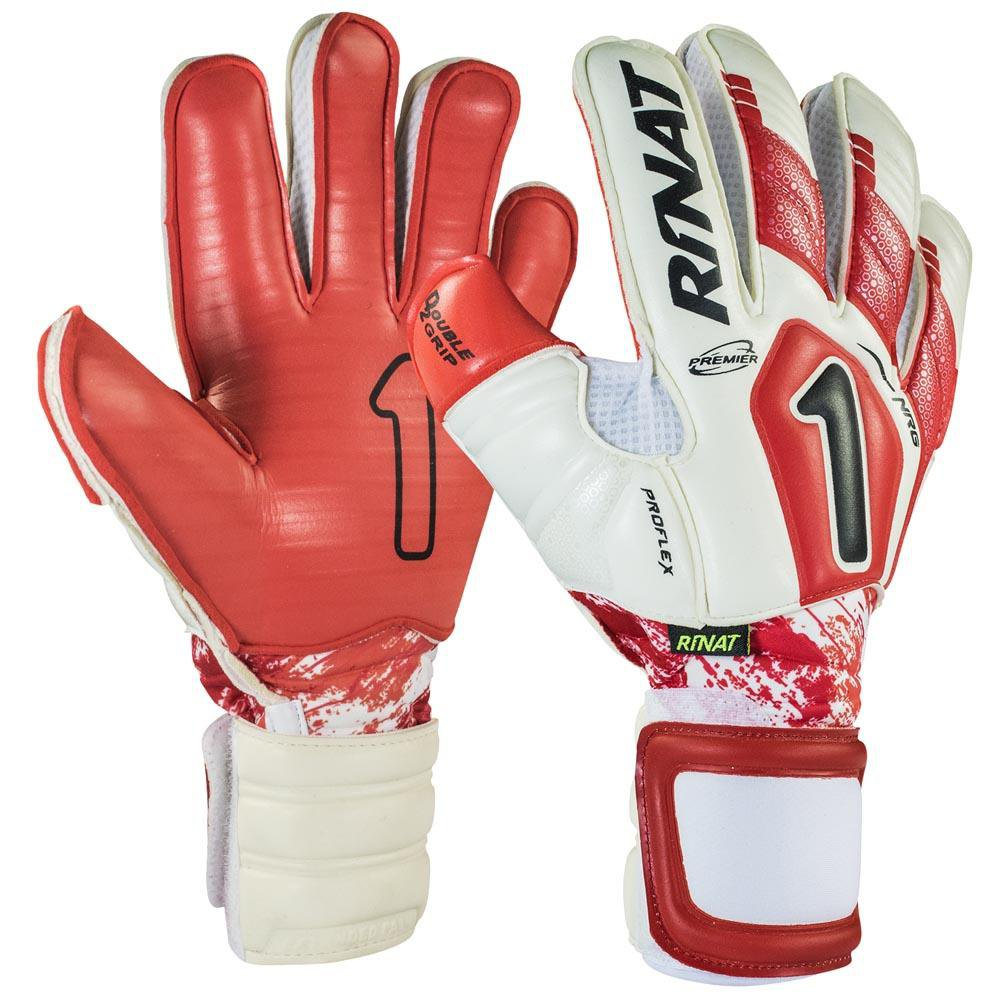 Rinat Uno Premiere Nrg Pro Goalkeeper Gloves 7 White / Red