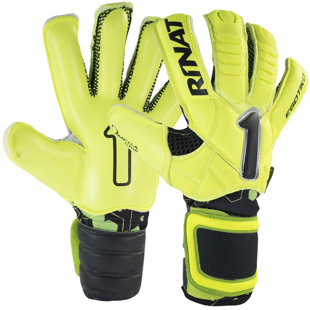 Rinat Egotiko Nrg Pro Goalinn Goalkeeper Gloves 7 Neon Yellow