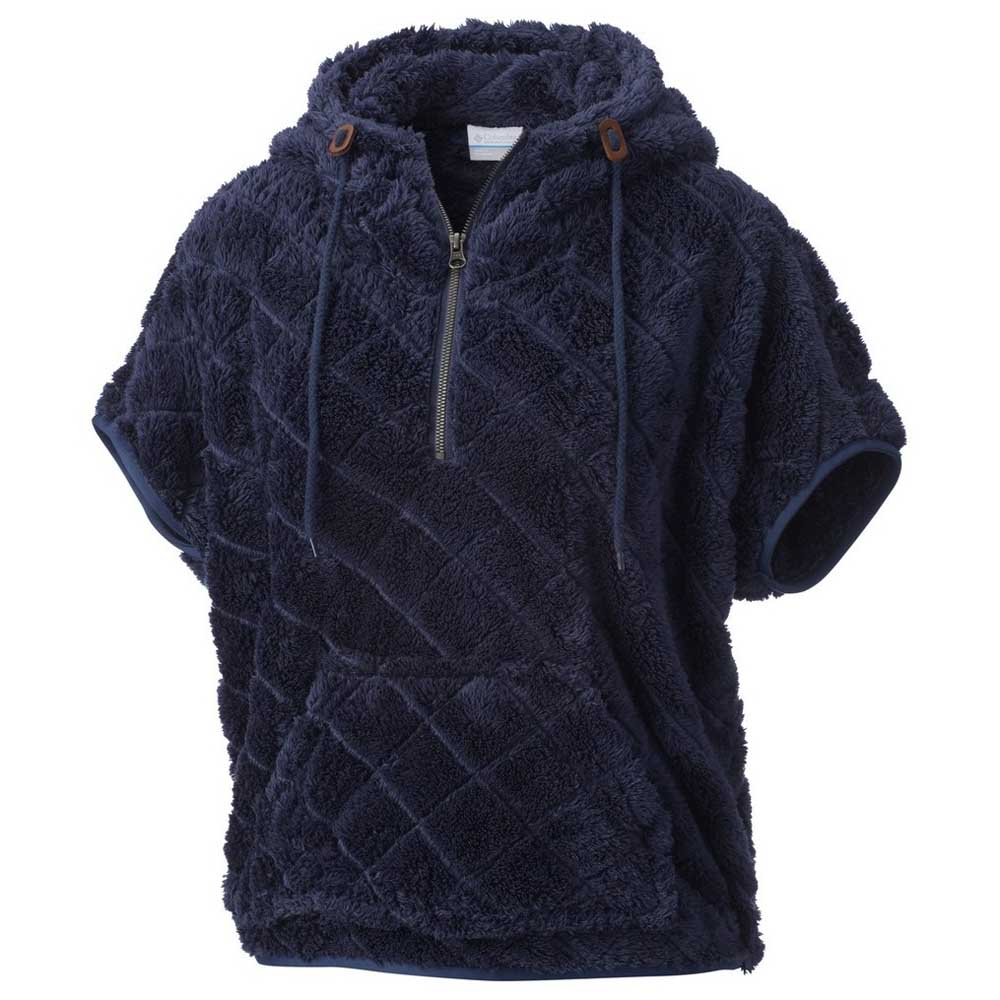 Columbia Fire Side Sherpa Shrug Pull Polaire Femme, Nocturnal, FR : M (Taille Fabricant : M)