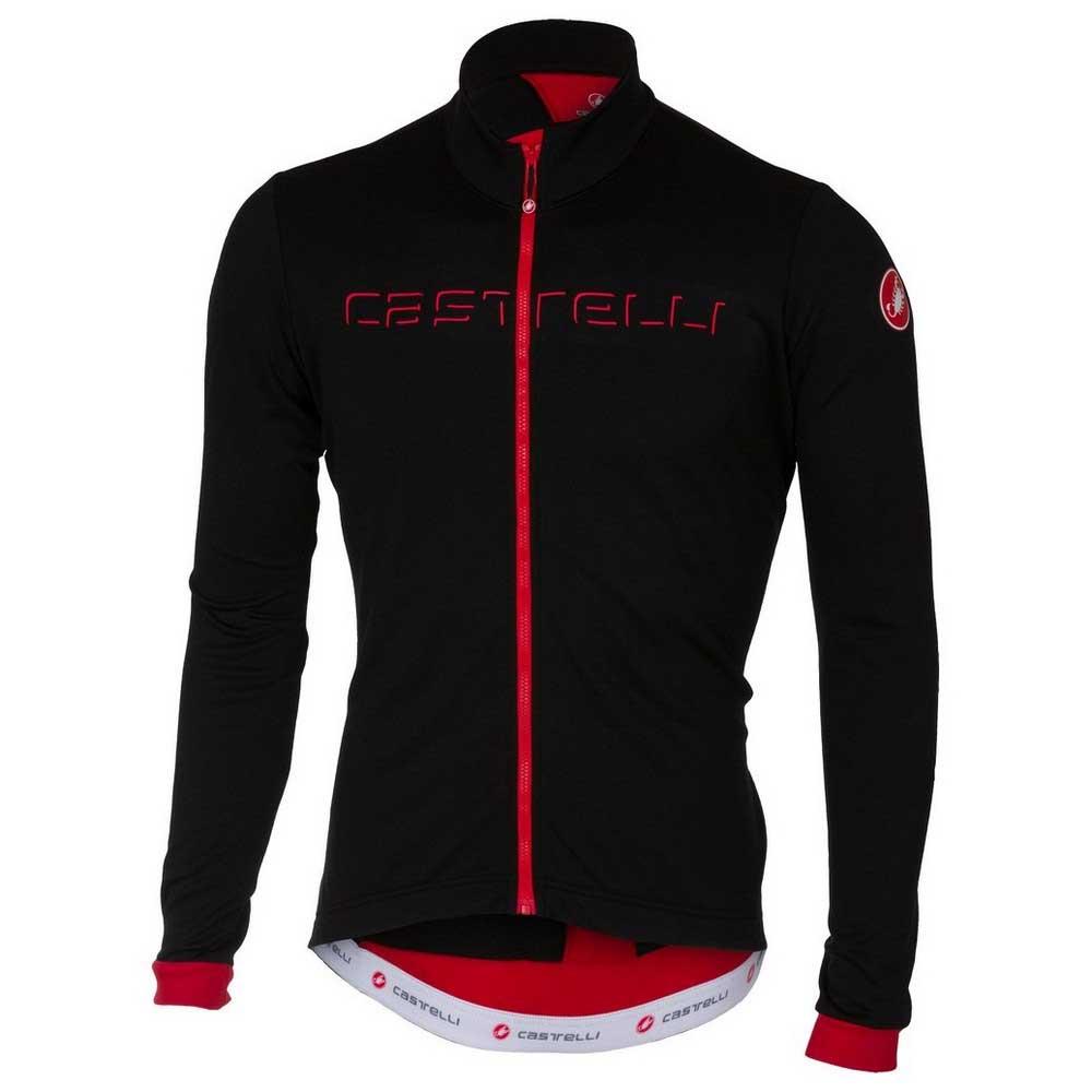 Castelli Fondo Fz Black / Red , Maillots Castelli Castelli Castelli , cyclisme , Vêtements Homme def863
