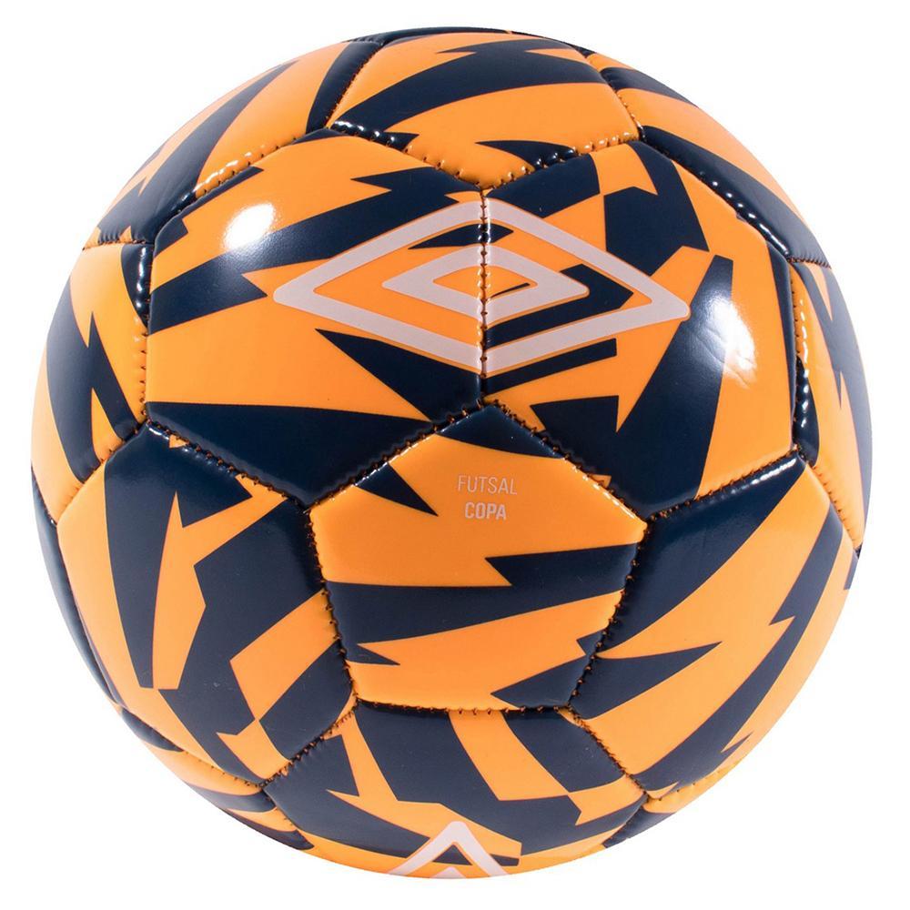 Umbro Futsal Copa 4 Shocking Orange / Navy Peony / White