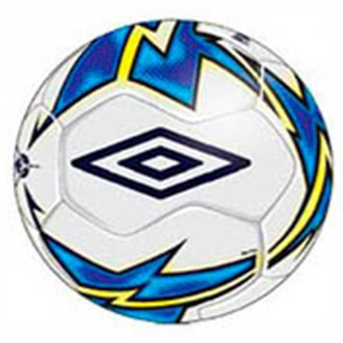 Umbro Ballon Football Salle Neo Liga 4 White / Electric Blue / Blazing Yellow