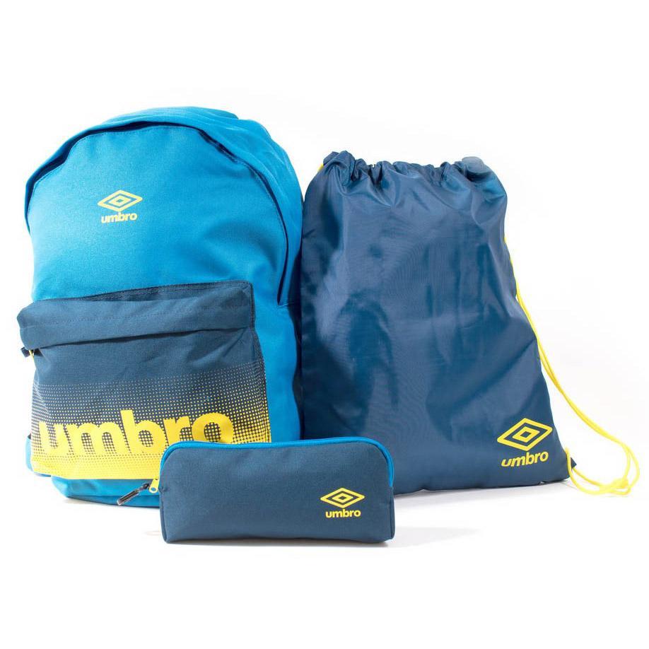 Umbro Back To School Pack M Electric Blue / Navy Peony / Blazing Yellow