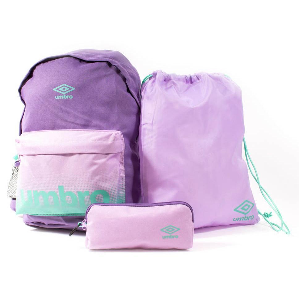 Umbro Back To School Pack M Purple Sapphire / Smokey Grape / Marine
