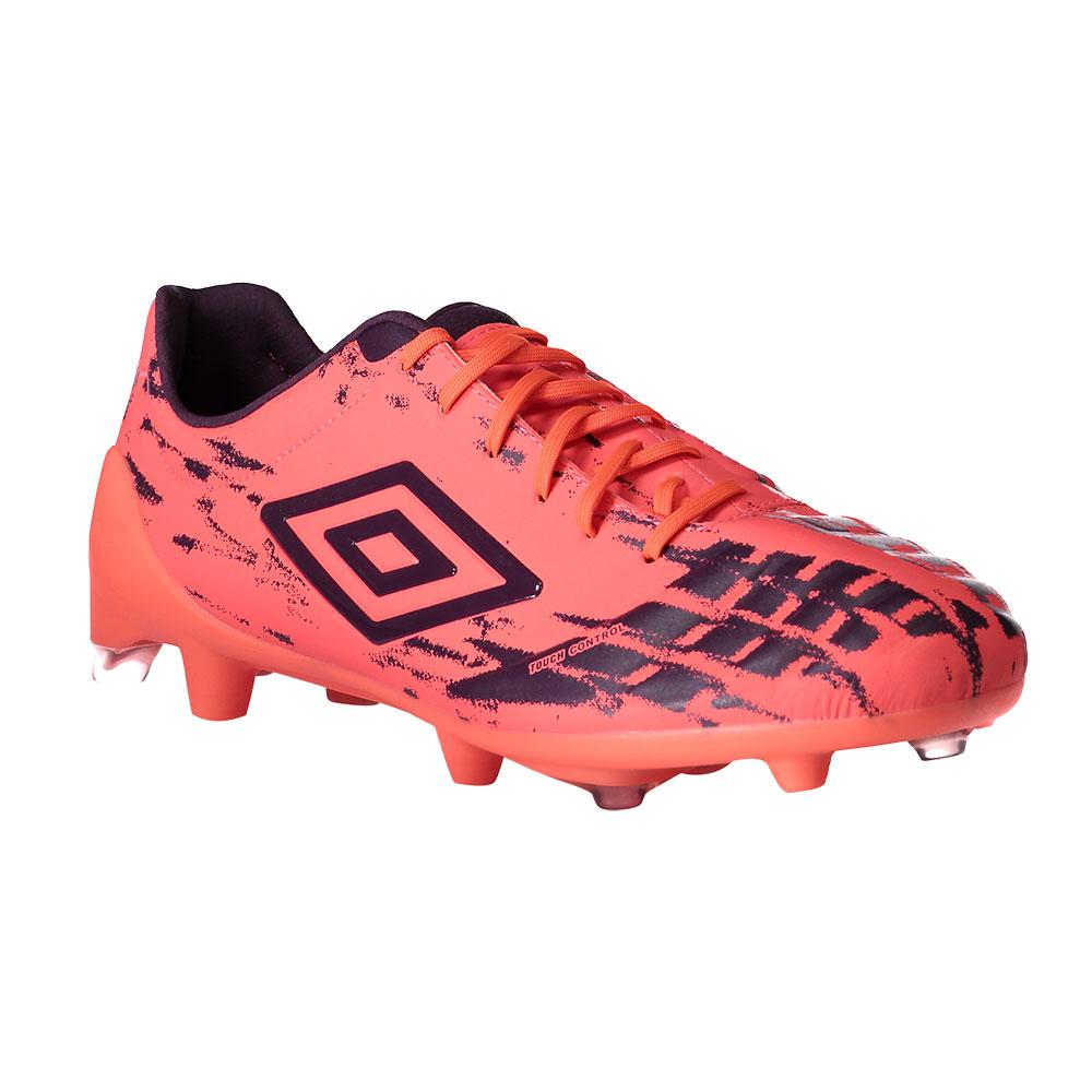 Umbro Chaussures Football Ux Accuro Pro Hg EU 44 1/2 Fiery Coral / Winter Bloom