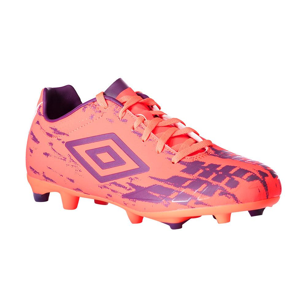 Umbro Chaussures Football Ux Accuro Club Hg EU 44 Fiery Coral / Winter Bloom