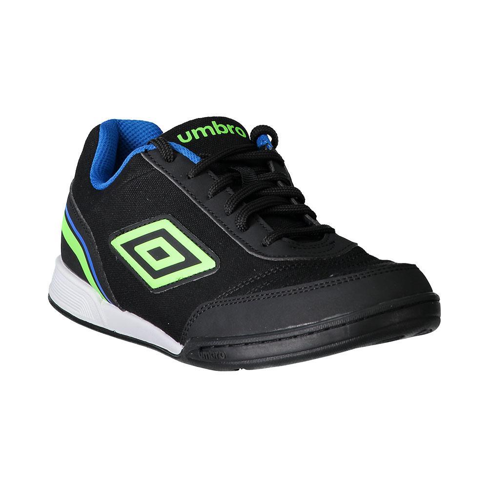 Umbro Chaussures Football Salle Futsal Street V EU 44 Black / Green Gecko / Electric Blue