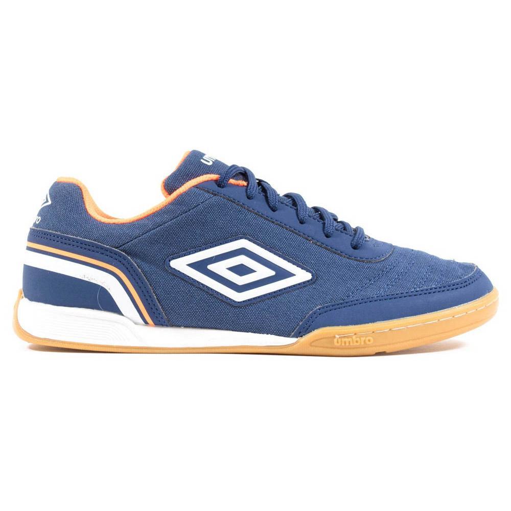 Umbro Chaussures Football Salle Futsal Street V EU 41 Navy Peony / White / Shocking Orange