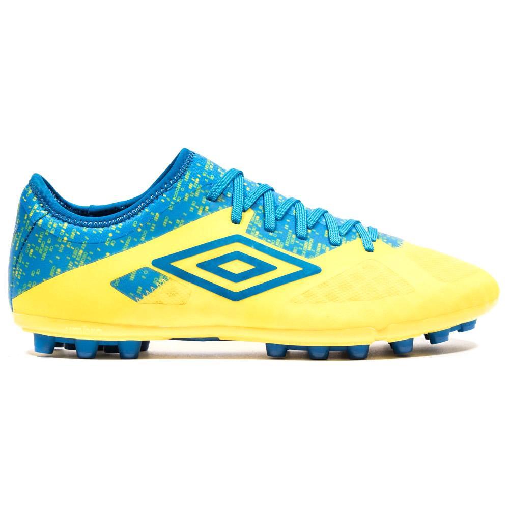 Umbro Chaussures Football Velocita Iii Pro Ag EU 44 Blazing Yellow / Electric Blue