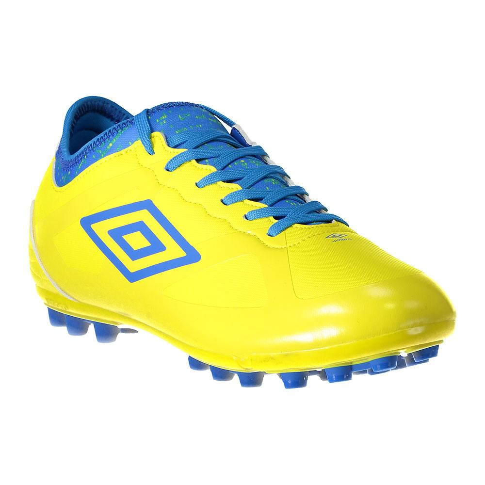 Umbro Chaussures Football Velocita Iii Premier Ag EU 44 Blazing Yellow / Electric Blue