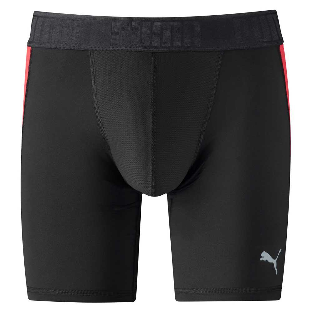 Puma Active Long Boxer Packed L Black / Red