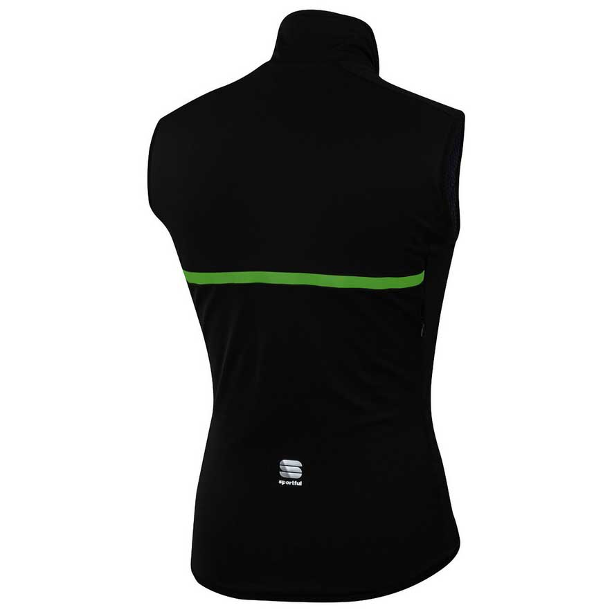 Gilets Thermal Black Green Fluo Giara Sportful Ciclismo qB8gSn