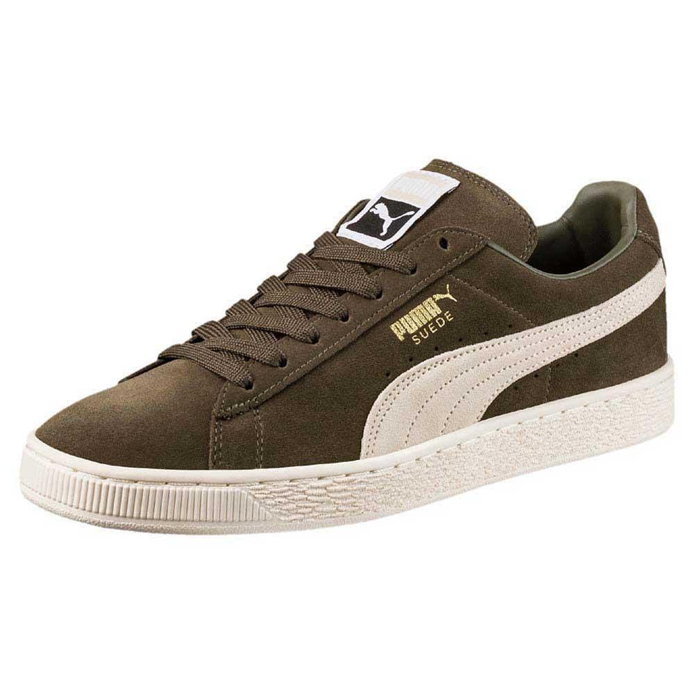 Zapatos casuales salvajes Puma Suede Classic, Blanco Male EU 38
