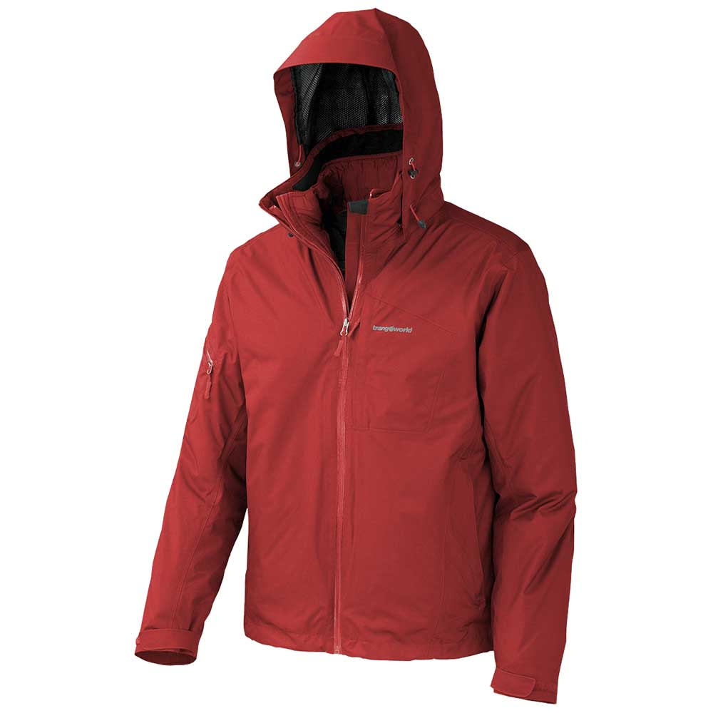 Trangoworld Sojezi Jacket S Fiery Red